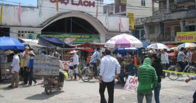 Chợ Chợ Lách ngày xưa